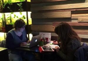 Iris Roch i Laia Piera- working time